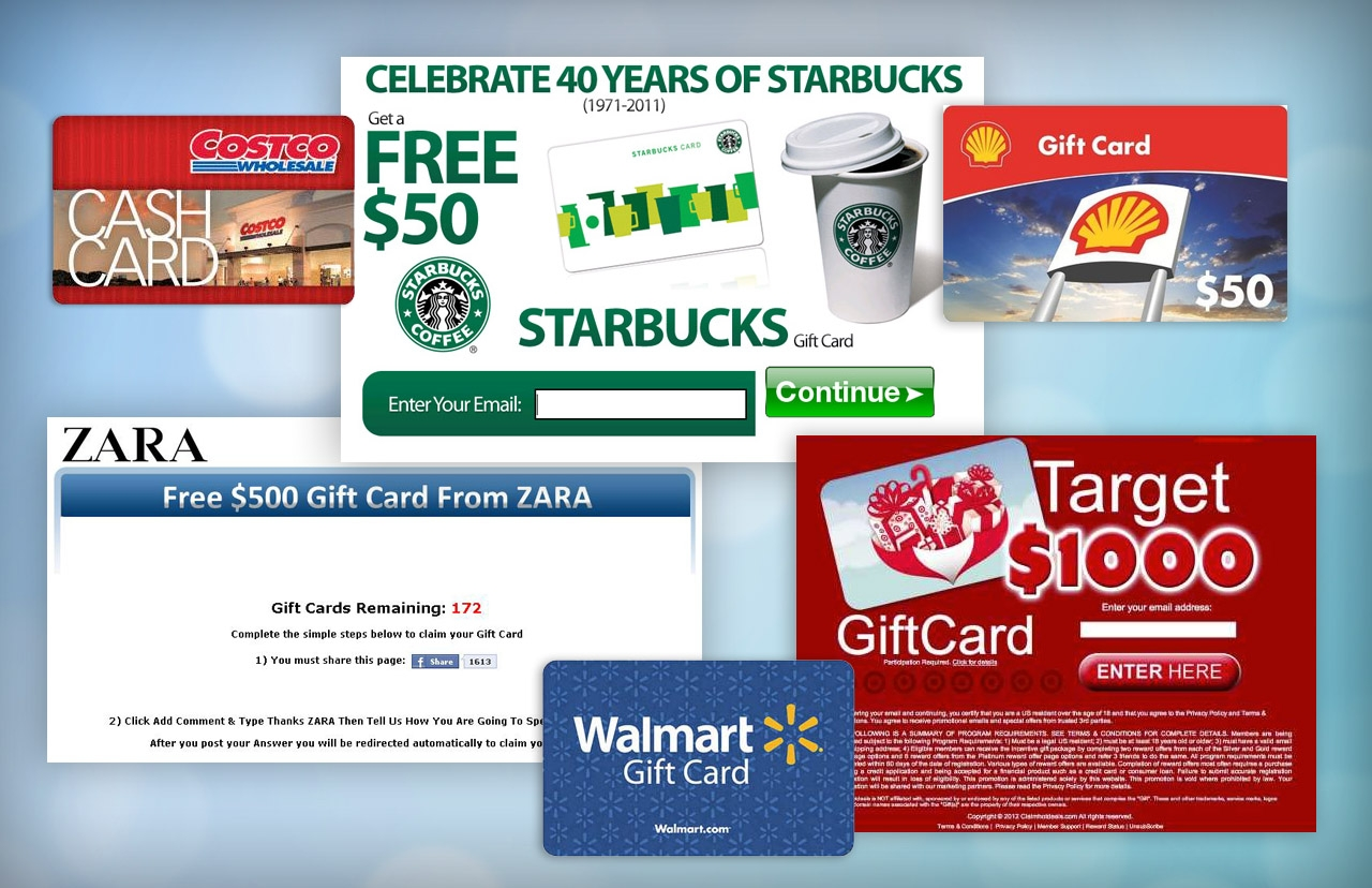 4 Type of Gift Cards Popular Right Now in Market
