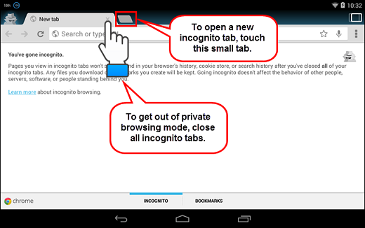 How to Use Private Browsing on Android