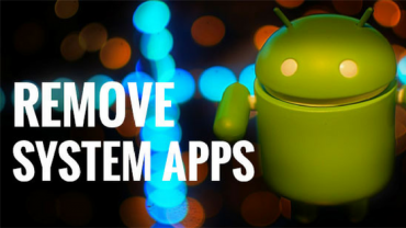 Uninstall System Apps in Android